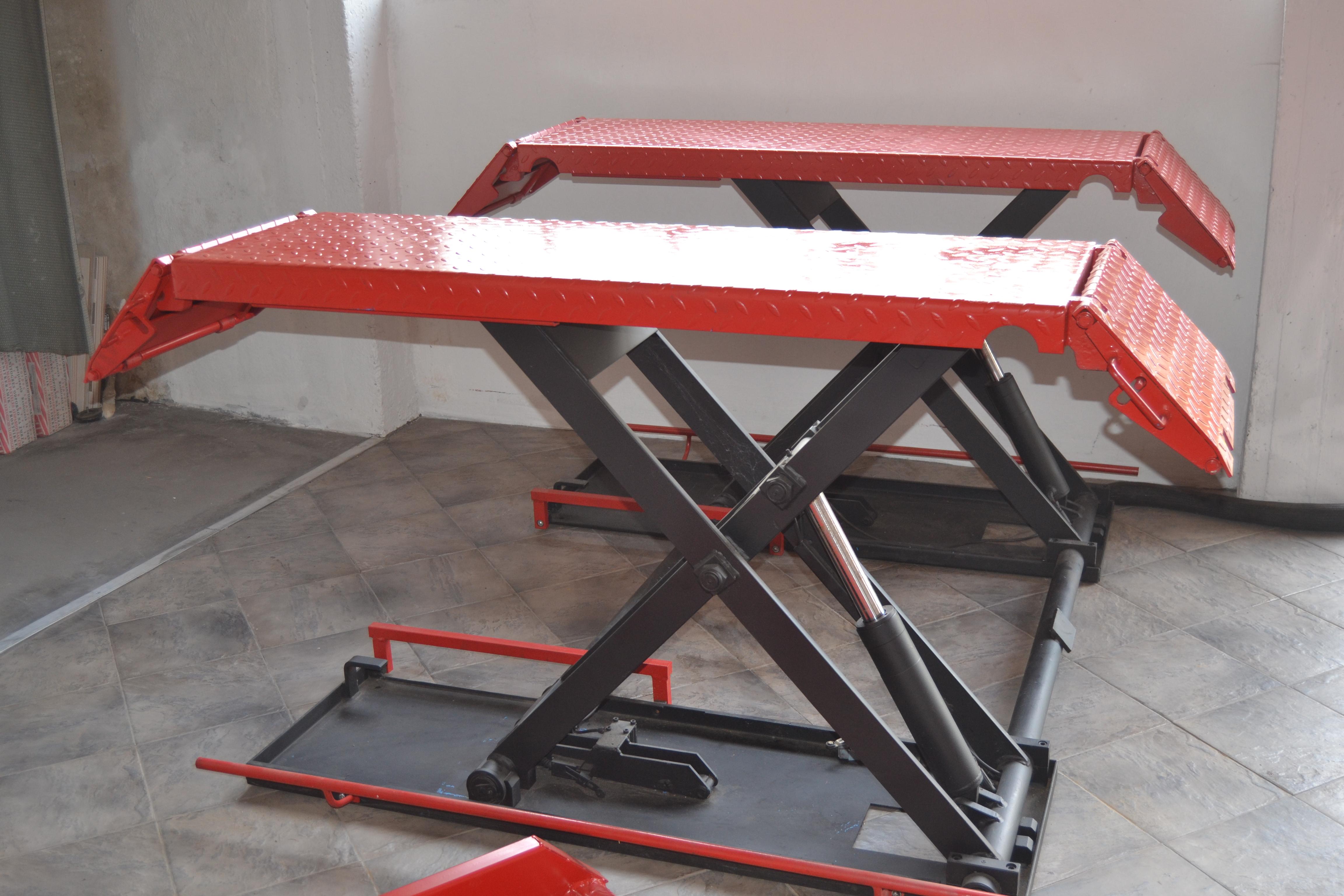 Sollevatori auto a forbice for Ponte meccanico per auto usato